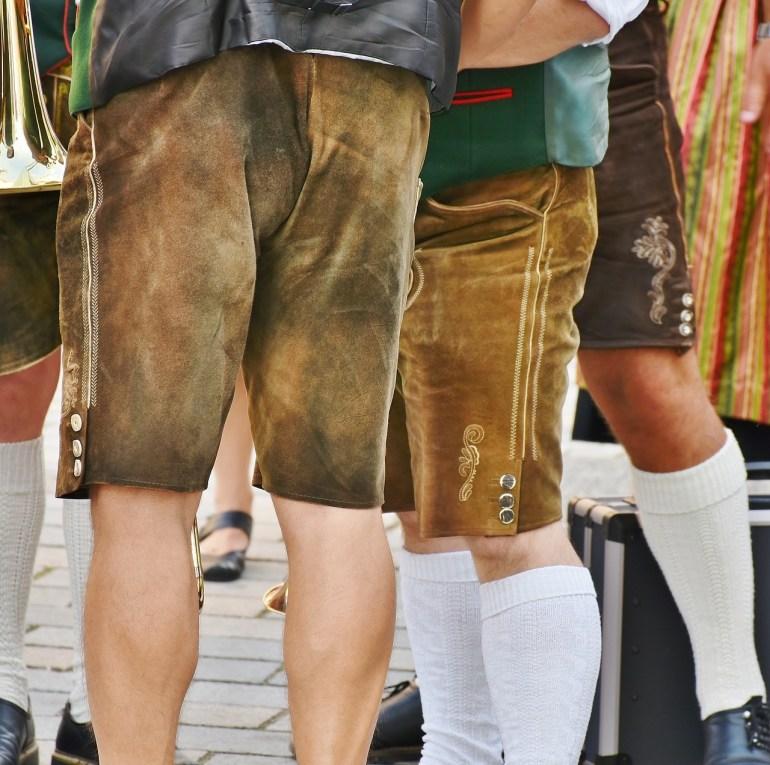 Lederhosen culottes de peau bavaroises