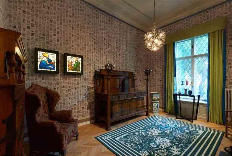 art nouveau style anglais à la villa György Ráth