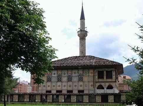 mosquée peinte de Tetovo Xhamia e Sinan Pashës