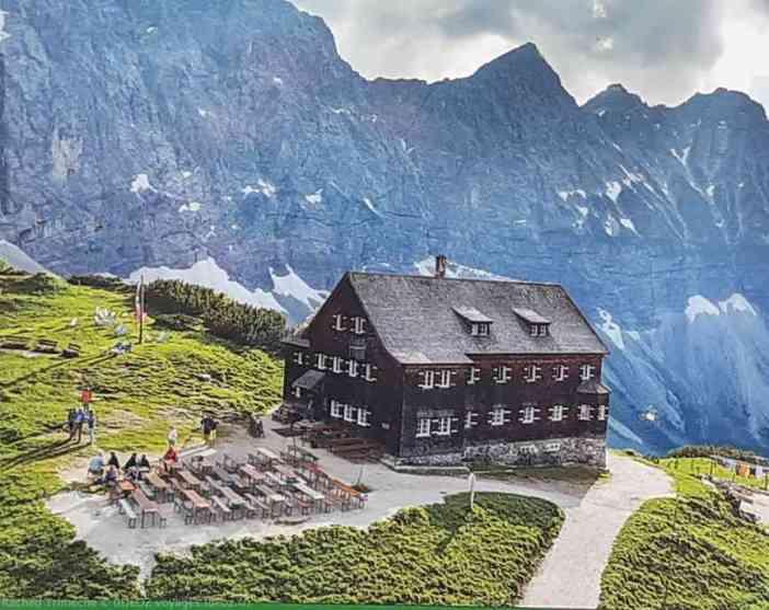 refuge dans les Alpes bavaroises