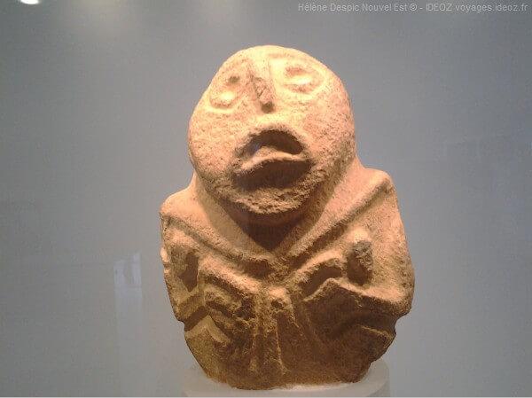 Lepinski Vir statuette du musée archéologique