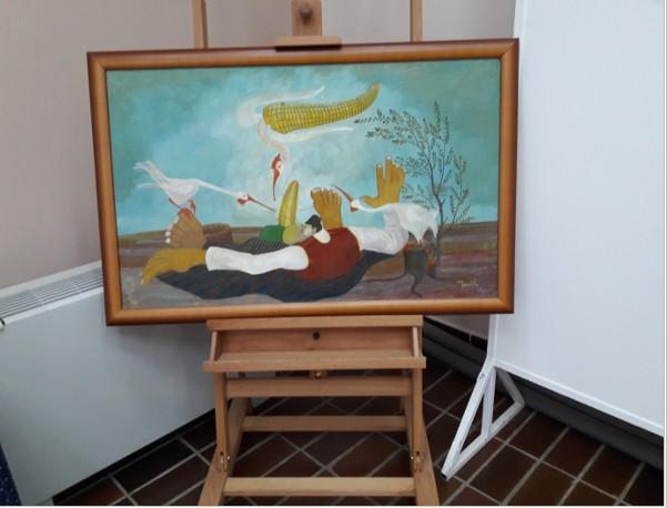 Tableau de Martin Jonas au musée de Kovacica