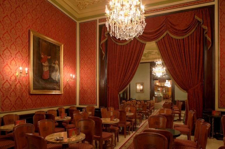 salon de thé Gerbeaud à Budapest