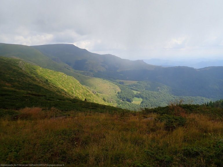 Randonnée à Stara Planina, sur la via dinarica voie verte en Serbie 9