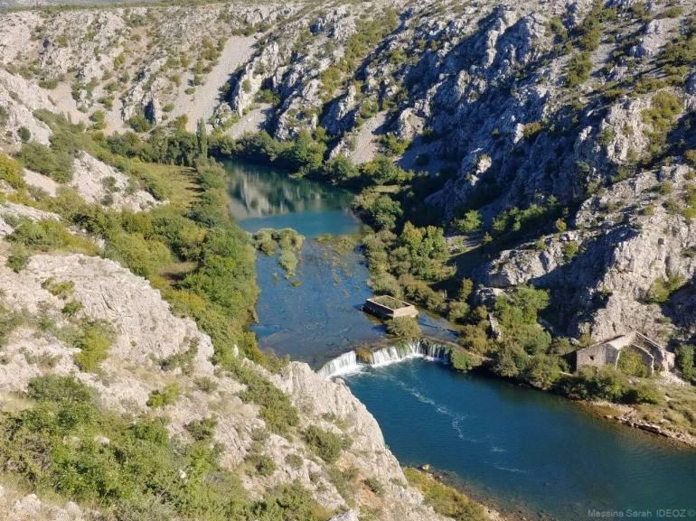 Cascade près Muskovci sur la rivière Zrmanja (1)