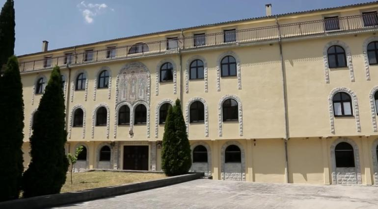 lieu de vie des moines du monastère de krka