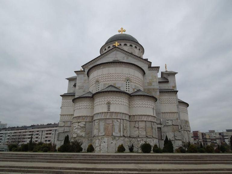 Podgorica cathédrale orthodoxe de la Résurrection du Christ