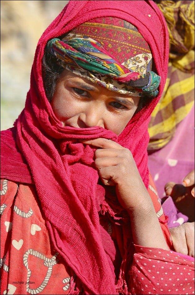 femme nomade entre Saghro et le Haut Atlas