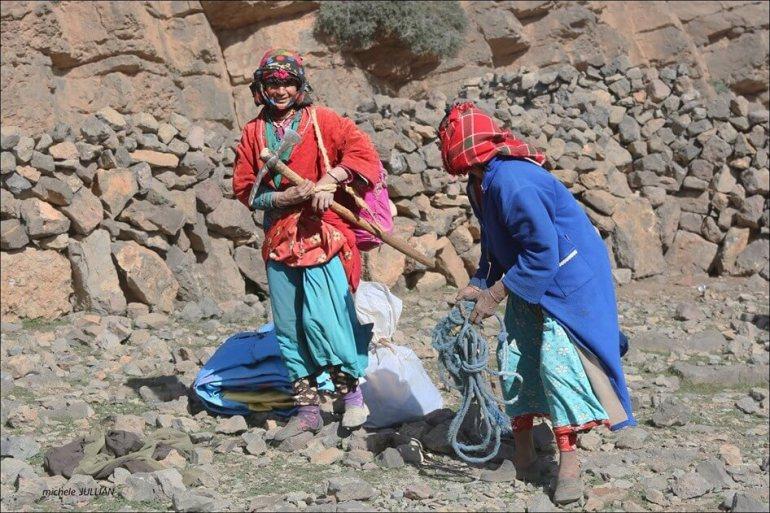 nomades berbères entre Saghro et le Haut Atlas