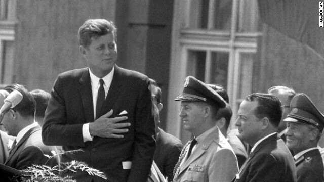 """26 juin 1963 - John F. Kenendy """"Ich bin ein Berliner"""""""