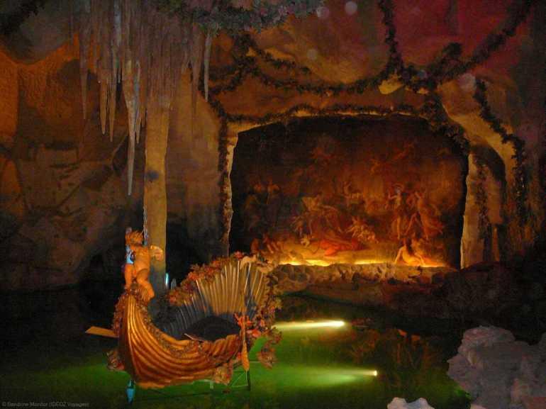 grotte de venus du château de linderhof