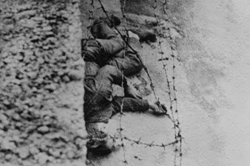 Berlin, 17 août 1962 victime du mur de la honte à berlin