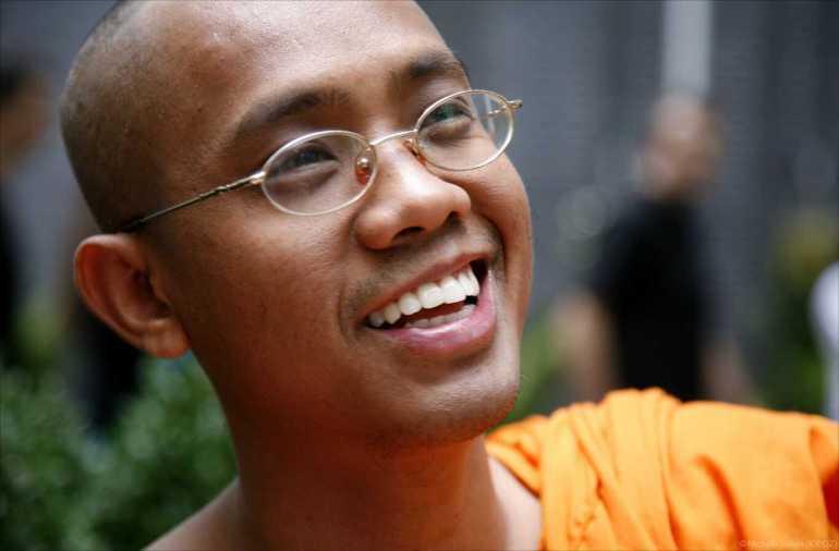 agga nya moine bouddhiste à New York