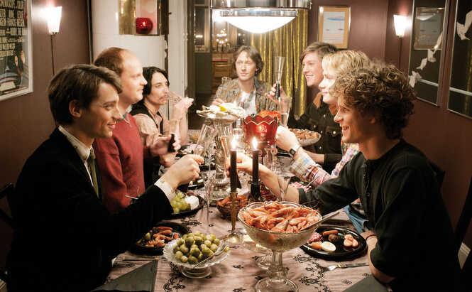série suédoise sur le sida snö groupe d'amis homosexuels touchés par le sida en suède dans les années 80