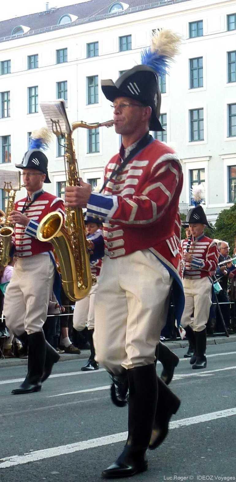 défilé d'Oktoberfest à Munich