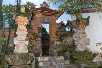 Entrée de maison - temple