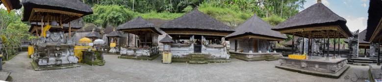 Gunung Kawi : panorama du temple