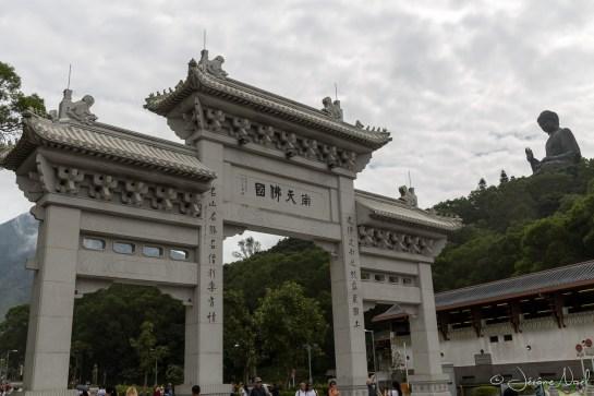 La porte du Buddha