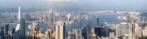 Panorama baie HK