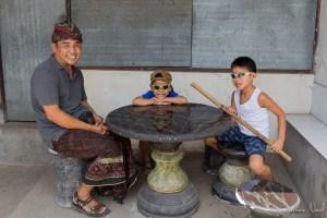 Pujung - Dewa et les enfants
