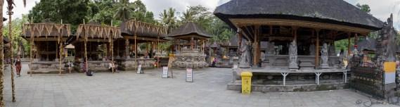 Tirta Empul : panorama du temple