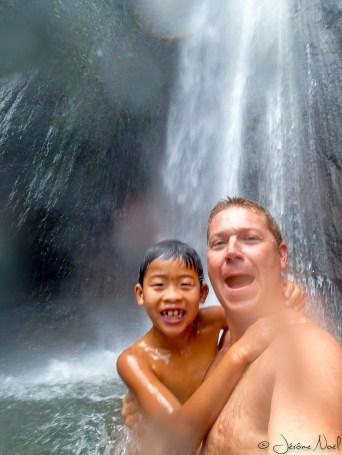 Cascade Munduk - Luka & Papa