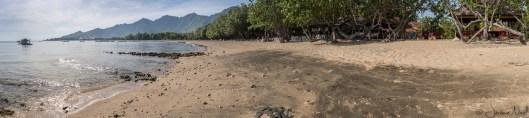 Taman Sari - panorama plage