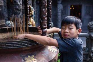Qingshui Zushi Temple - Luka encens