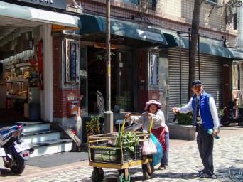 Taipei - vieille dame 80 ans