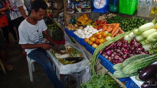 Sibulan Public Market - primeur