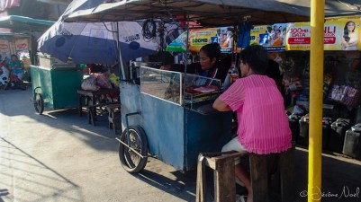 Sibulan Public Market - stand de rue