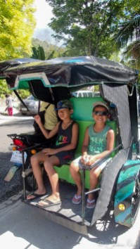 Tricycle pour Oslob