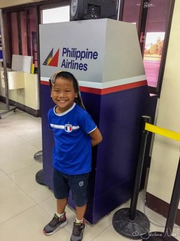 A l'aéroport de Tagbilaran en attente le vol pour Manille