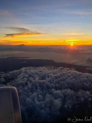 En vol pour Manille