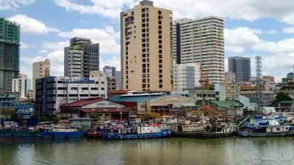 Manille depuis Fort Santiago