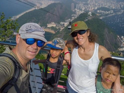 Selfie au Pao de Açucar