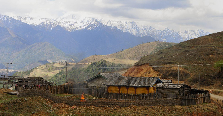 Shangri-La (Xiānggélǐlā 香格里拉), chef-lieu de la préfecture autonome tibétaine de Dêqên, Yunnan (Yúnnán 云南)