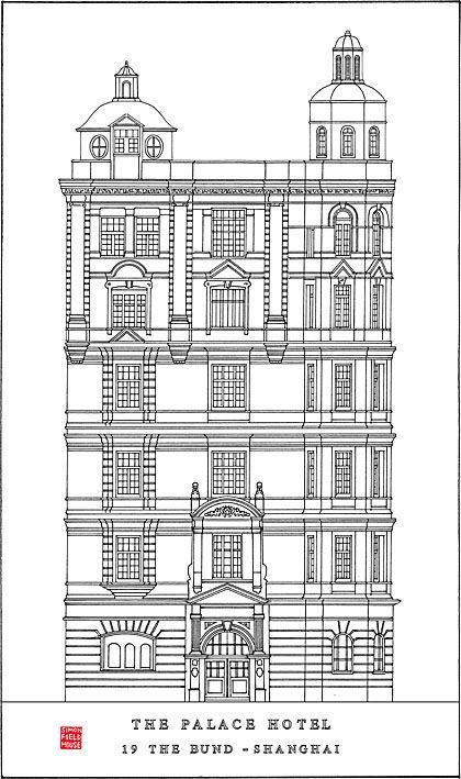 Palace Hotel (1906), N°19, Le Bund, Shanghai