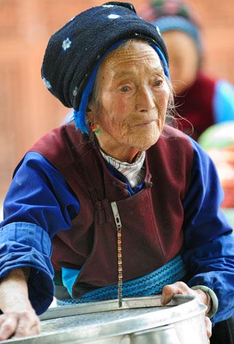 ZhouCheng (ZhōuChéng 週城), le plus grand village Bai (Bái) de la région de Dali (Dàlǐ 大理), Yunnan (Yúnnán 云南)