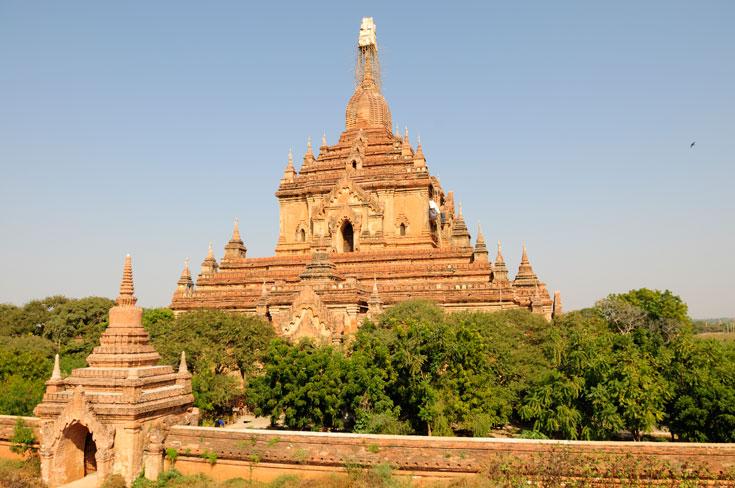 Le temple d'Htilominlo