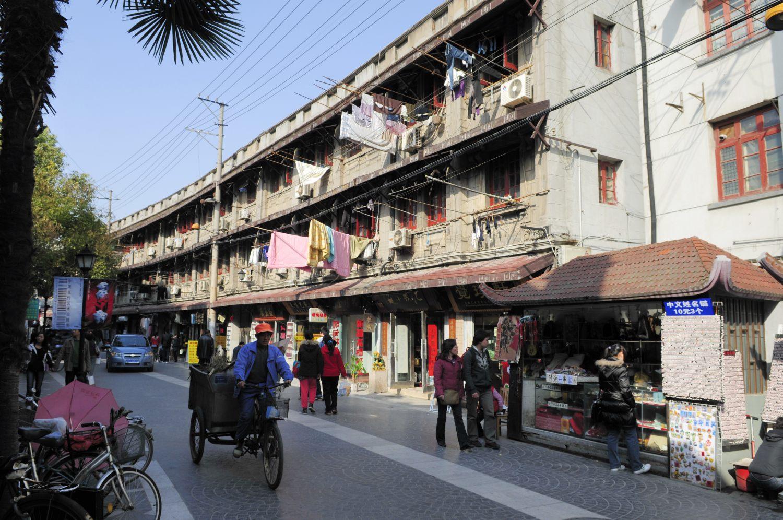 Rue piétonne DuoLun, Shanghai (多伦路)