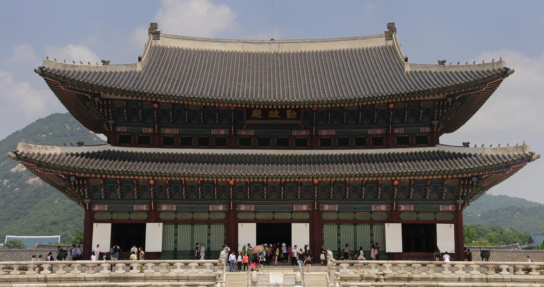 Palais Gyeongbokgung (경복궁), Séoul, Corée du Sud