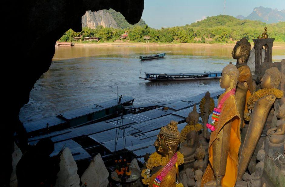 Mékong, Grottes Pak Ou, Luang Prabang, Laos