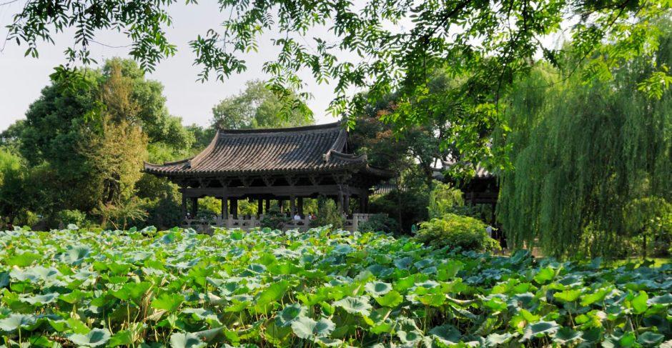 Jardin de la famille Shen 沈园 à Shaoxing, ville natale de Lu Xun