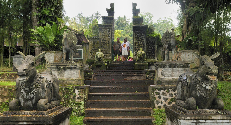 Le palais aquatique Taman Tirta Gangga (eau du Gange), Bali, Indonésie