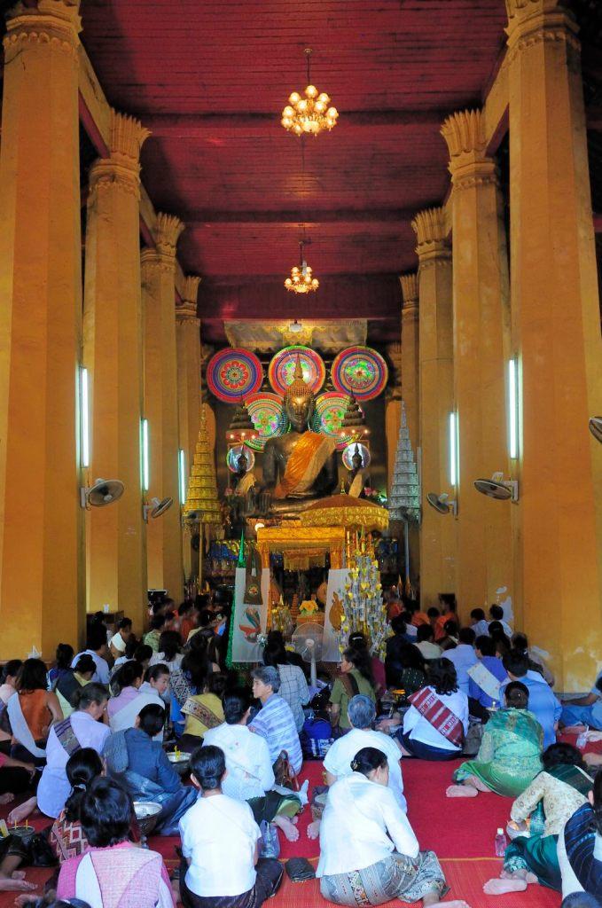 Visite de Vientiane, Laos : Temple Wat Ong Teu