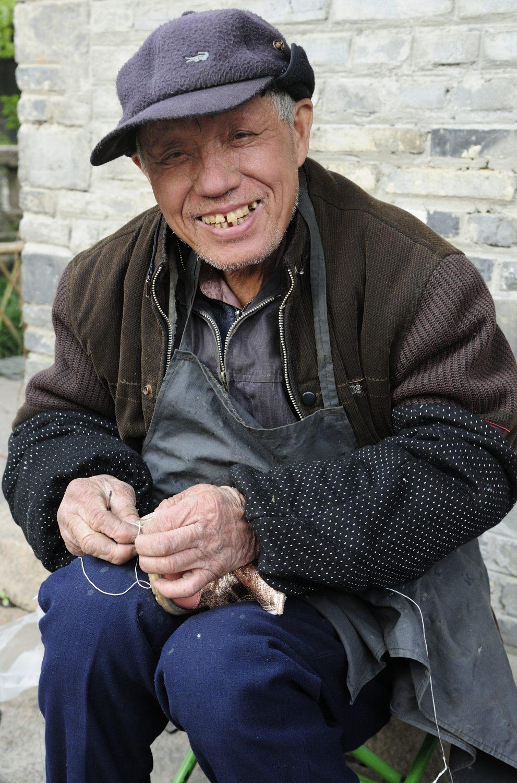 Cordonnier à Wuzhen, Zhejiang, Shanghai