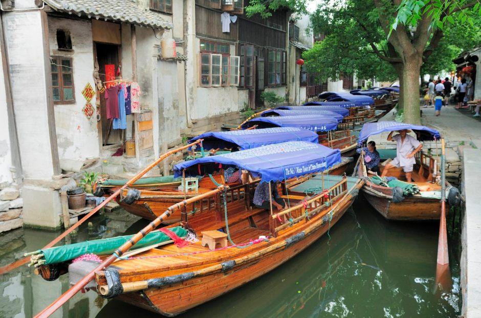 Zhouzhuang, l'un des villages d'eau autour de Shanghai