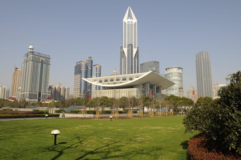 L'Opéra de Shanghai dessiné par Jean-Marie Charpentier