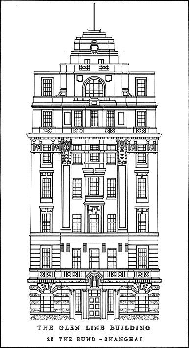 Glen Line Building (1922), N°28 Le Bund, Shanghai